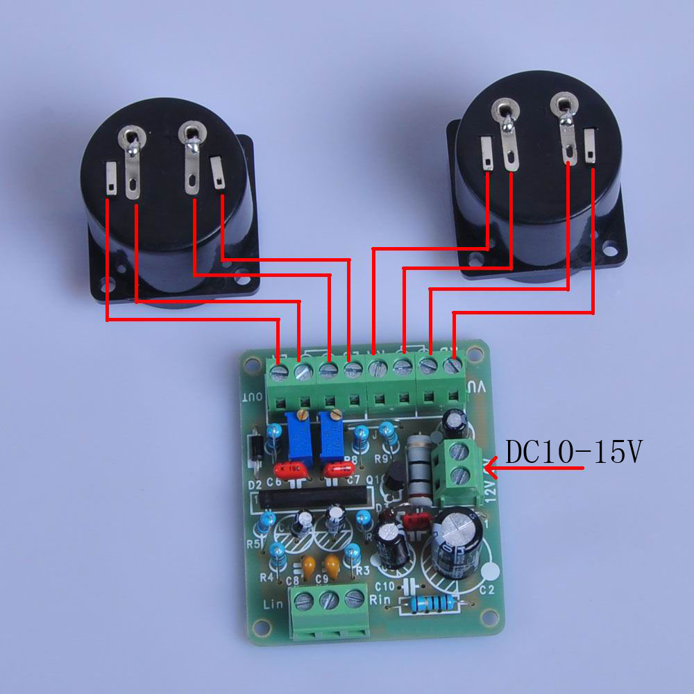 12v Power Amplifier Vu Meter Driver Board Db Audio Level For Am Fm Radio Receiver Circuit Using Ta8122 Integrated Ic Ta7318p Denon In Circuits From Electronic Components Supplies On