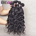 Beyo волос продукты бразильского виргинские волос естественная волна 4 шт. лот дешевые бразильский волос 100% человеческих волос бесплатная доставка