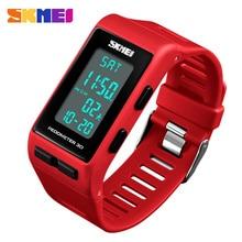 купить SKMEI Woman Sport Digital Watch Mens Watches Top Brand Luxury Pedometer Calories Man Wrist Watch Clock New relogio feminino 1363 по цене 912.19 рублей