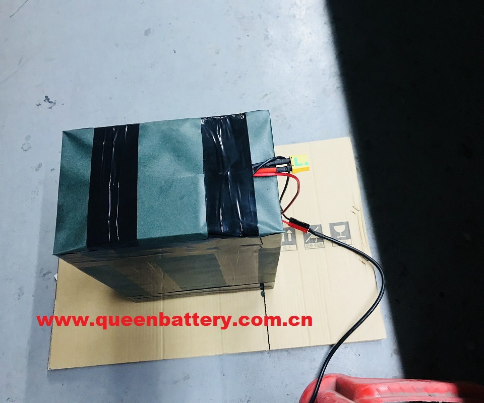 20S8P 60V40AH LIFEPO4 BATTERY PACK for EV 32650 WITH BMS with xt90 with anderson