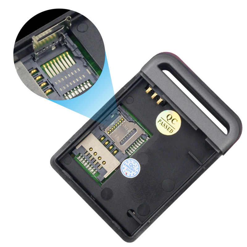 10 шт. GPS локатор GSM TK102B автомобиль Mini в реальном времени GSM GPRS GPS устройства слежения TK 102 для детей Домашние животные и автомобиля