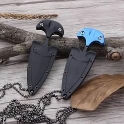 Многофункциональный мини подвесное ожерелье Ножи переносной Открытый Отдых на природе Ножи Rescue инструмент выживания