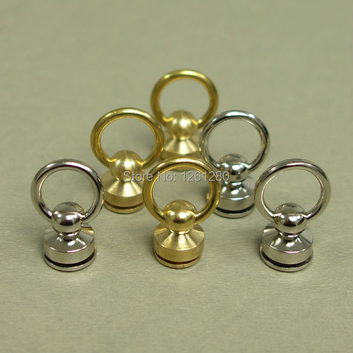 free shipping brass swivels ring lock Pacifier nail buckle D ring handmade bag luggage bag hanger