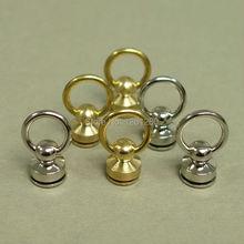 free shipping brass swivels ring lock Pacifier nail buckle D ring handmade bag luggage bag hanger diy hardware garment part