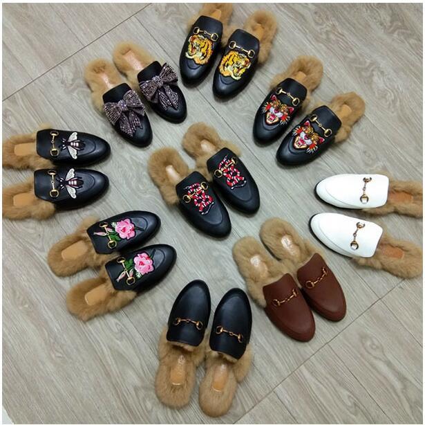 On Cuero La Bordado Chanclas Flor As Zapatos Slip Picture Piel 2019 35 Grande Mocasines Mujer Moda 43 as Diseñador De Marca Toboganes Sandalias Picture Tamaño vXpw5qnOxY