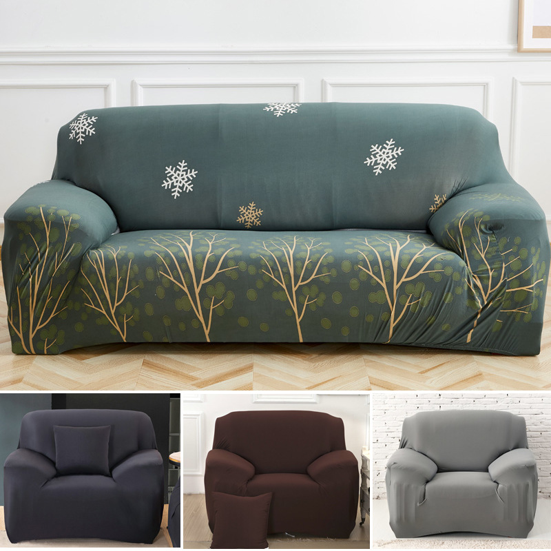Removable Stretch Chair Sofa Covers 1 2 3 4 Seater Protector Couch Slipcover US