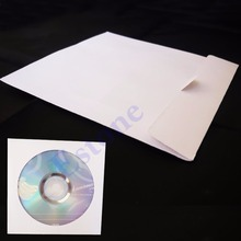 50 PCS 5inch Paper CD DVD Flap Sleeves Case Cover Envelopes