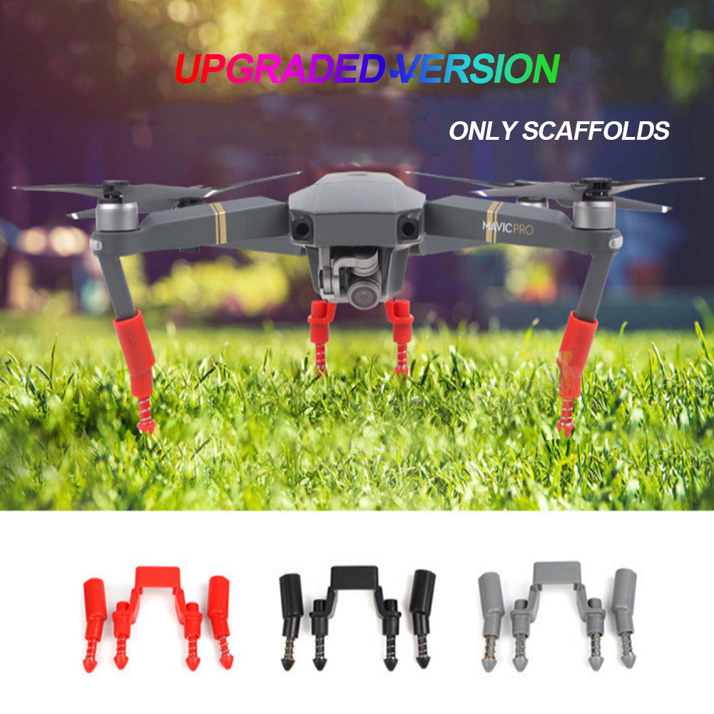 Landing Gear Kits Accessories Protective Shockproof Heightened Extender Quick Release Drone Parts Legs Support For DJI MAVIC PRO