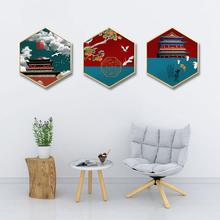 лучшая цена Simple wall painting Living room decorative painting Sofa background wall painting Bedroom restaurant Forbidden City