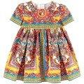 New Arrive 2016 monsoon  girls dress baby sundress girls clothes summer dress TY216