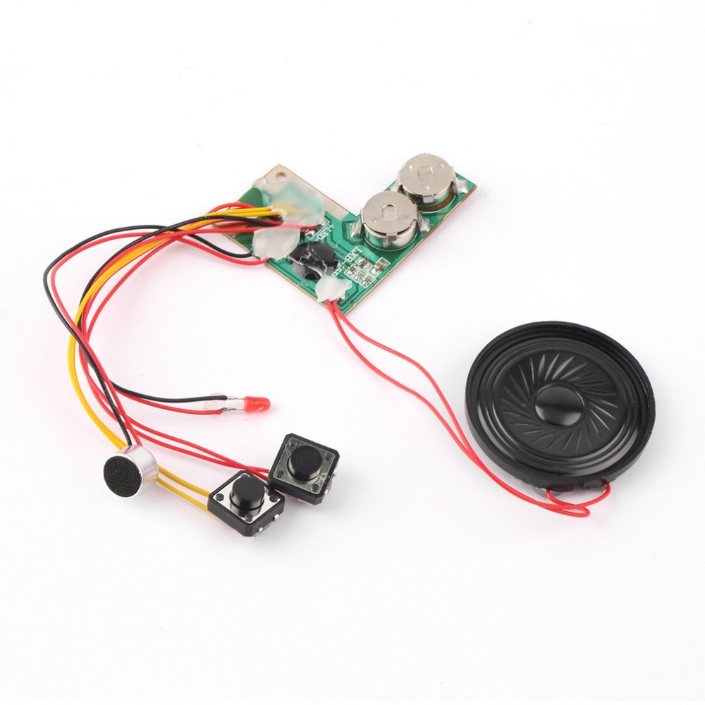 1pc Kid Adult Sound Recordable Voice Module For Greeting Card Music Sound Talk Chip Musical Christmas Gift Top Sale