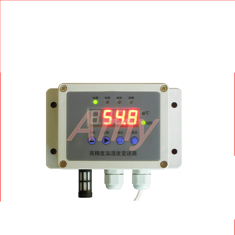 Temperature and humidity transmitter RS485 digital tube display Modbus-RTU communication protocol TD200ATemperature and humidity transmitter RS485 digital tube display Modbus-RTU communication protocol TD200A