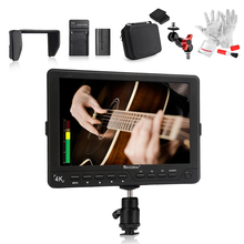 BESTVIEW S7 4K Camera HDMI HD Monitor 7″ DSLR LCD Monitor 1920*1200 w/ Battery Kit+Magic Arm Adapter+Case for Canon 5D Mark IV..