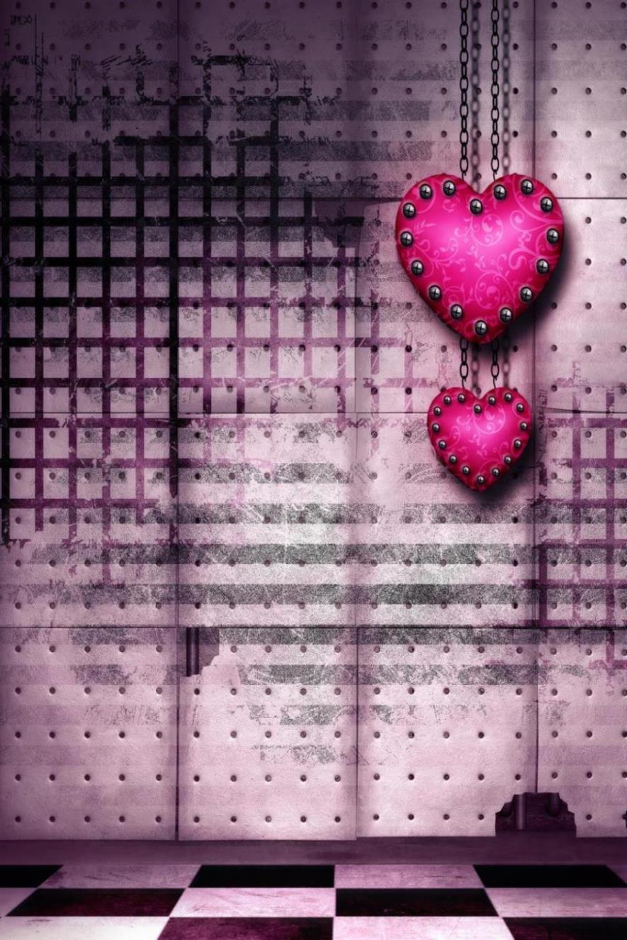 Photography Backdrops 300Cm*200Cm Heart Knot Grid Floor Valentine'S Day Thick Cloth Backdrop Photography Zj 8x10ft valentine s day photography pink love heart shape adult portrait backdrop d 7324