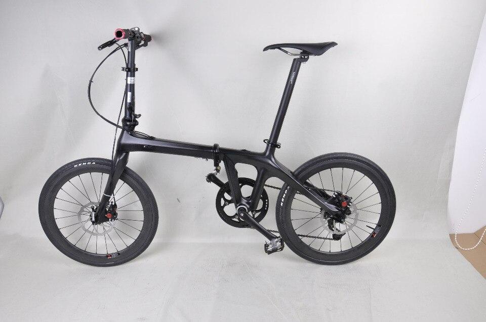 Cina Kualitas Terbaik Barang 20 Inch Karbon Sepeda Lipat Bingkai Dengfu Sepeda Bingkai Sepeda Lipat 3 K Matt Bsa Cepat Pengiriman Carbon Folding Bicycle Frame Foldingbicycle Frame Aliexpress