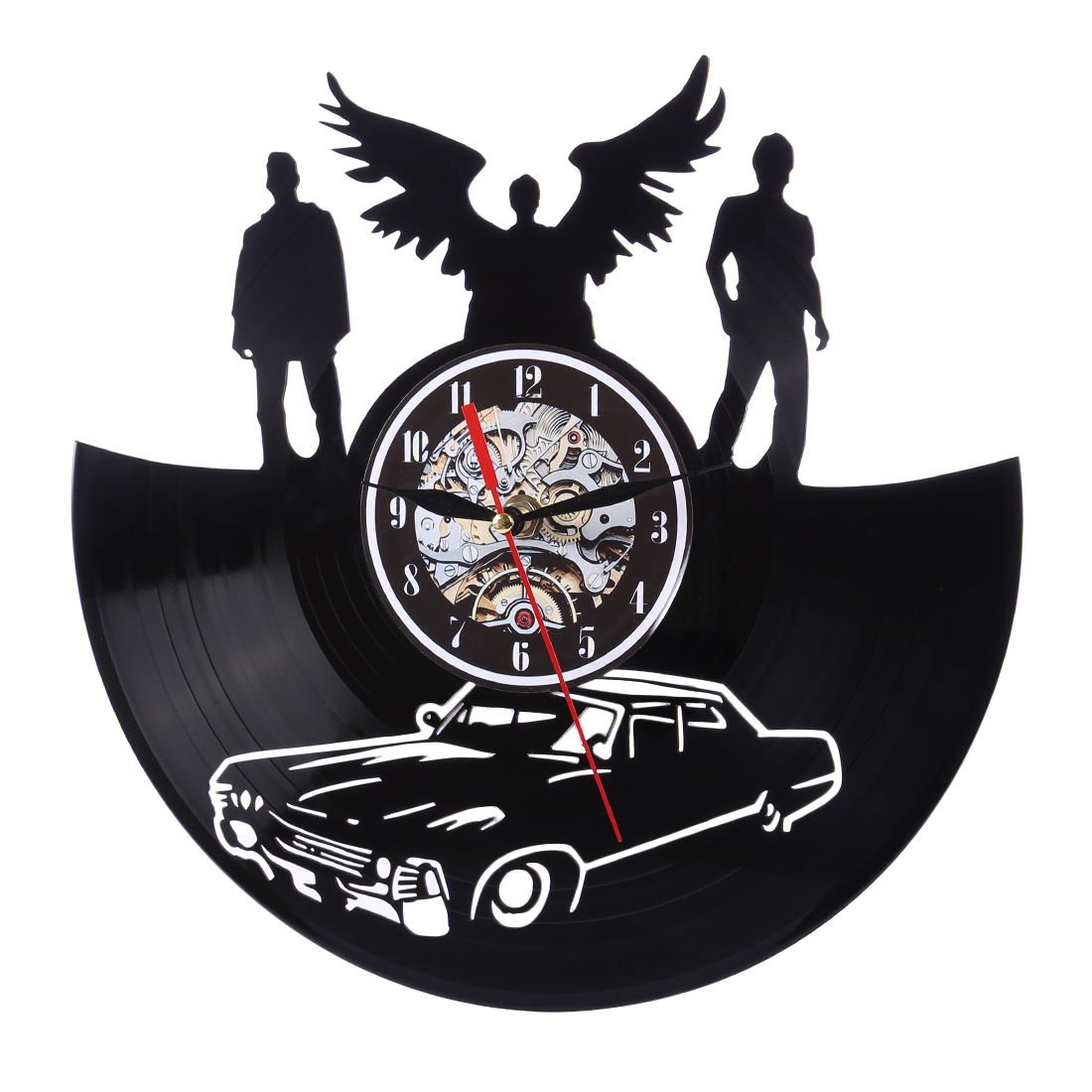 Hot Sale Home Decorative Wall Clock For Bedroom Living Room Dog Car