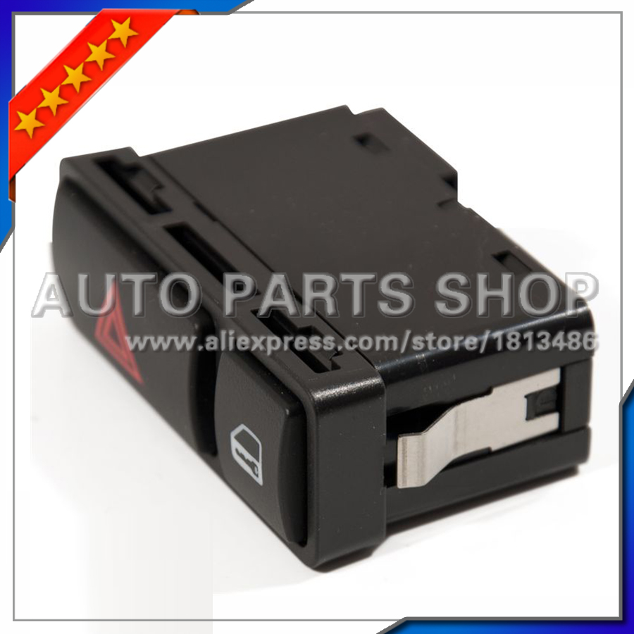 Free Shipping! Hazard Warning Light Switch for BMW E46 E53 E85 E86 316i 318i 320i 325i 328i 330i M3 X5 Z4 61318368920