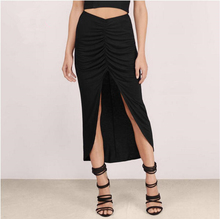 FFTAIQI new street fashion spring summer all mtach woman skirt casual drape asymmetrical hem loose slim women Mid-Calf skirts