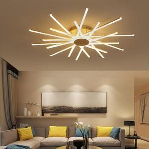 Image 4 - ใหม่มาถึงโคมไฟเพดานLedโมเดิร์นสำหรับห้องนั่งเล่นห้องนอนStudy Roomสีขาวสีอลูมิเนียมโคมไฟเพดานโคมไฟ