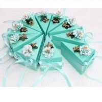 10 Pcs Set 7 Designs Decoration Wedding Candy Storage Boxes Chocolate Box Cake Box Birthday Party