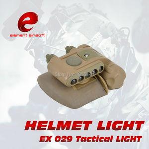 Набор для шлема Element Surefir GEN 2, военный тактический светильник для шлема, для страйкбола, wapen, arma, лампа для оружия, ваффеновый шлем, Flashligh