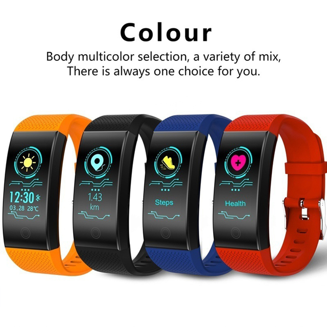 Smart Watch Sports Fitness Activity Heart Rate Tracker Blood Pressure wristband Running Tracker Wrist Band Sports Smart Watch