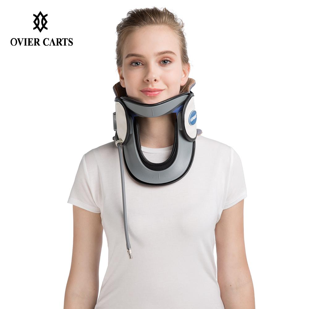 Household Neck Traction Device Medical Inflatable Cervical Collar Tractor Upper Back Neck Massager Pain Relief Home