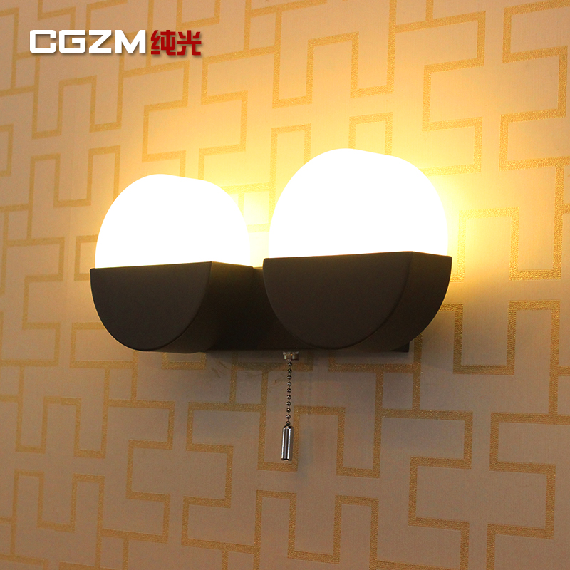 iron staircase aisle lamp lighting Creative personality LED simple modern bedroom bedside lamp wall lamp  corridor modern creative iron wall lamp living room bedroom bedside wall lamp led lighting led lamp wholesale creative hotel
