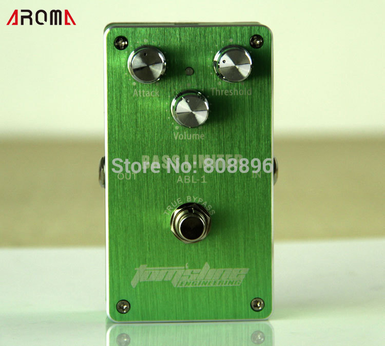 Free shipping!NEW Effect Pedal/ Aroma Premium Effect Pedal ABL-1 Bass Limiter The life of the battery enclosed free shipping premium yaki merrylight