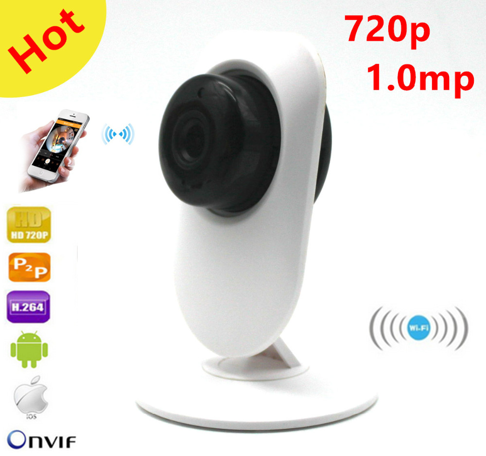 New Design Cube IP Camera Wifi 720P 1.0 Megapixels ONVIF P2P Plug Play Wirelss WIFI IP Camera HOME Security Camera автоинструменты new design autocom cdp 2014 2 3in1 led ds150