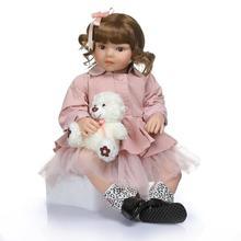 70cm 28inch Reborn Baby Doll Silicone inteiro life Boneca Toddler Toys for Children Brinquedos Juguetes