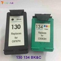 For HP 130 For Hp 134 Ink Cartridges For HP Deskjet 6543 5743 6623 5743 6843