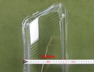 Image 5 - 2 pcs 헤드 램프 플라스틱 쉘 전등 갓 헤드 라이트 커버 유리 헤드 램프 쉘 렌즈 06 11 아우디 a6 a6l c6