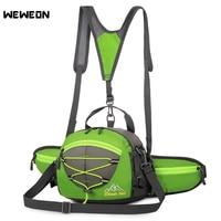 Outdoor Multifunctional Sport Waist Bag Riding Pack Waist Backpack For Camping Hiking Travel Water Bottle Holder Messenger Tote