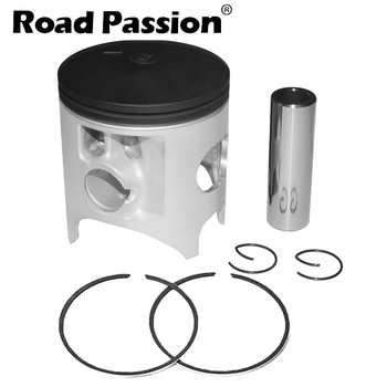 Road Passion Motorcycle STD 66.4mm +60 67mm Piston Ring Kit For KAWASAKI KX250  KX 250 1992 1993 1994 1995 1996 1997 1998-2004