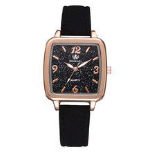 digital Watches Ladies leather Starry Sky Clock Fashion Diamond Female Quartz Wristwatches relogio feminino zegarek damski