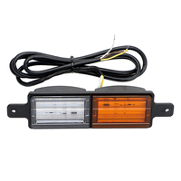 Car Truck Lorry Side Lamp Warning Light Waterproof Super Bright 30 LED Turn Signal Light Flashing