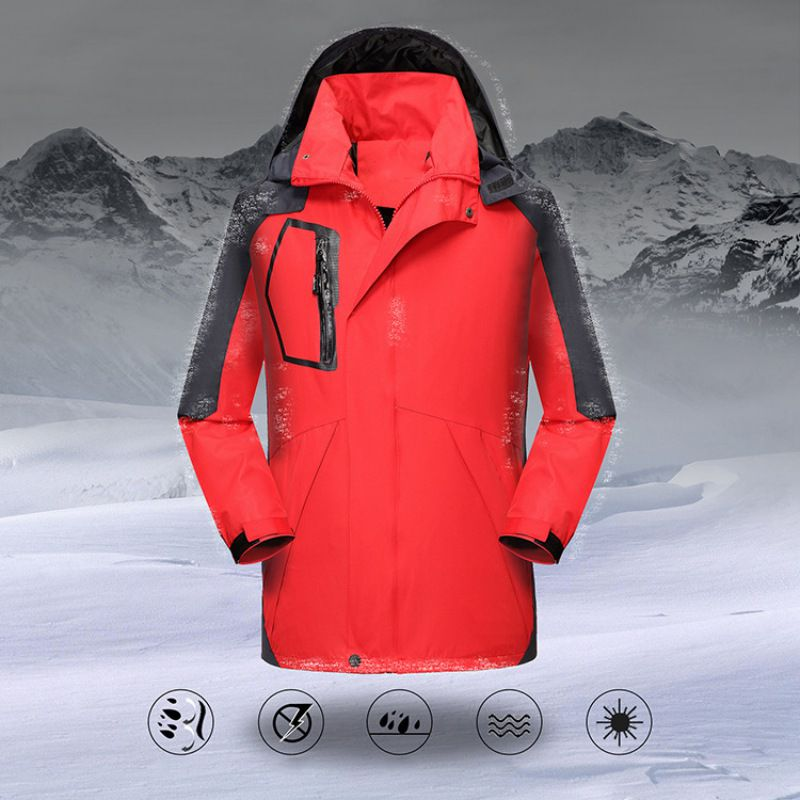 Outdoor Ski Einzigen Schicht Mantel Skifahren Windbreaker Wasserdicht Winddicht Sport Winter Jacke Frauen Mann Sportswear Softshell Pro
