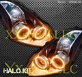 for nissan Altima coupe RGB LED headlight halo angel eyes kit car styling accessories 2010 2011 high quality