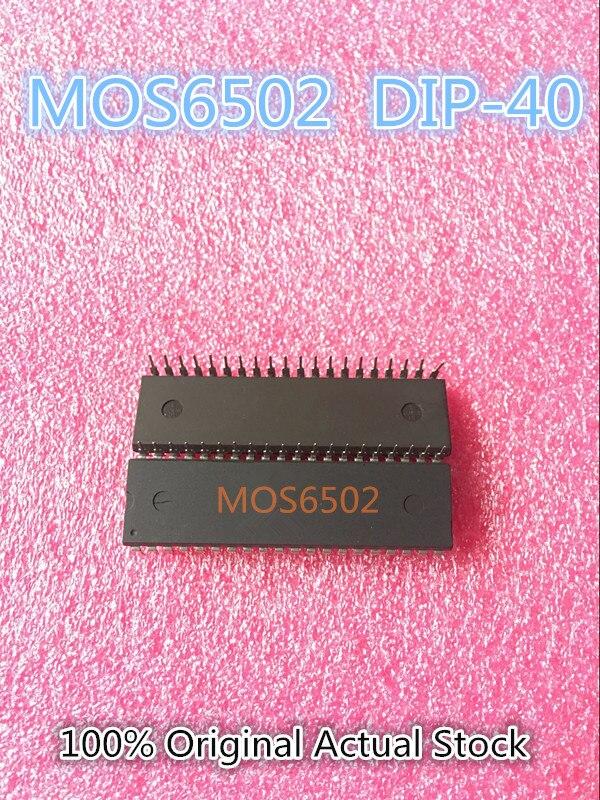 Mos 6502 MOS6502 6502AD R65C02AP MOS-6502 DIP-40 100% Original Actual Stock