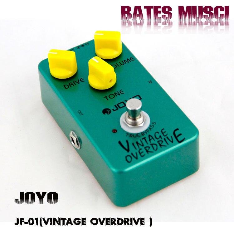 buy joyo jf 01 guitar effect pedal vintage overdrive electric bass dynamic. Black Bedroom Furniture Sets. Home Design Ideas