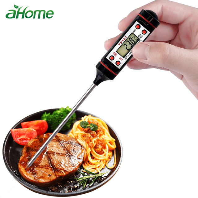 kitchen goods store spotlights aliexpress com buy digital bbq thermometer stainless steel probe meat mlik temperature measuring tool accessories cooking