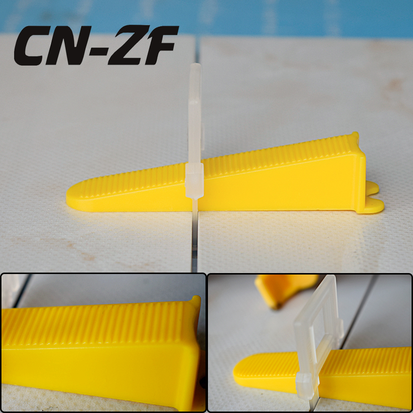 CN-ZF Plastic Ceramic Alignment Floor Levelers Tile Tools Leveling Level Spacers System Kits 300 Wedges 800 Clips For Tiles цены