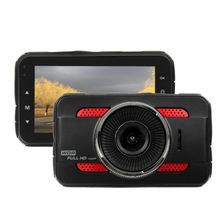 Best price KROAK 3.0 Inch 1080P HD Car DVR Camera Recorder G-Sensor Motion Detection Detector Dash Cam Recorder 170 Degree