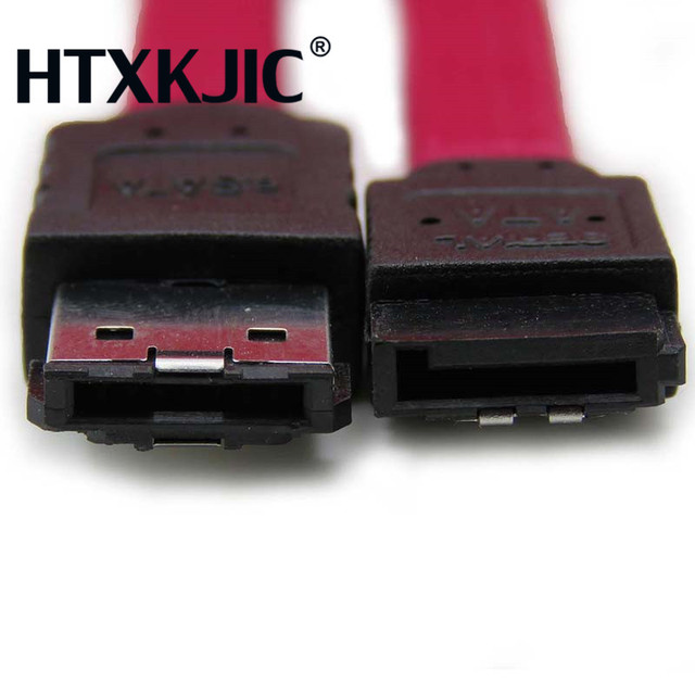 1M 3Ft ESATA To SATA Cable Serial ATA External Adapter 7 Pin Male Convertidor