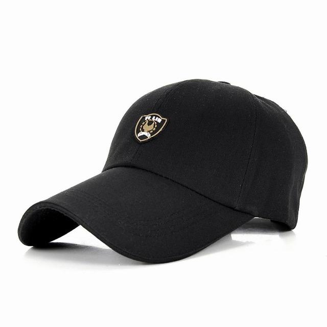 Algodão fino masculino esporte esporte chapéu chapéu de sol feminino lazer tour viseira do boné de beisebol osso snapback bonés de beisebol da primavera e verão