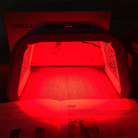 4 вида цветов ФДТ светодиодный свет терапия машина лицо Красота фотодинамическая лампа акне морщин удалить омоложение кожи SPA нестареющий т