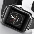 2018 Нержавеющаясталь модные часы Smart Watch отвечать на телефонные звонки информацию напомнить OLED Цвет умные часы с сенсорным экраном Reloj ...