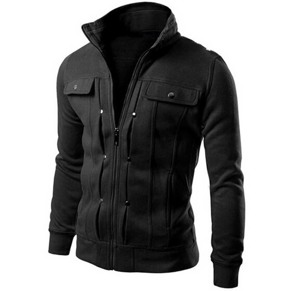 Zogaa 2019 冬男性のデニムジャケットみんな綿ソリッドスリムフィットカジュアルジャケットストリート男性のコート男性服