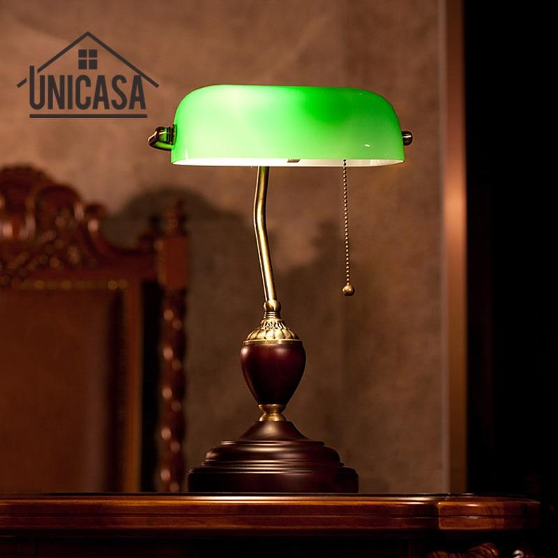 2017 Nouveau Led Bureau Réglable Clip Lumières De Chevet De Bureau Lampe de Table En Verre Bureau Vintage Éclairage Fer Métal Lumière Suspendus